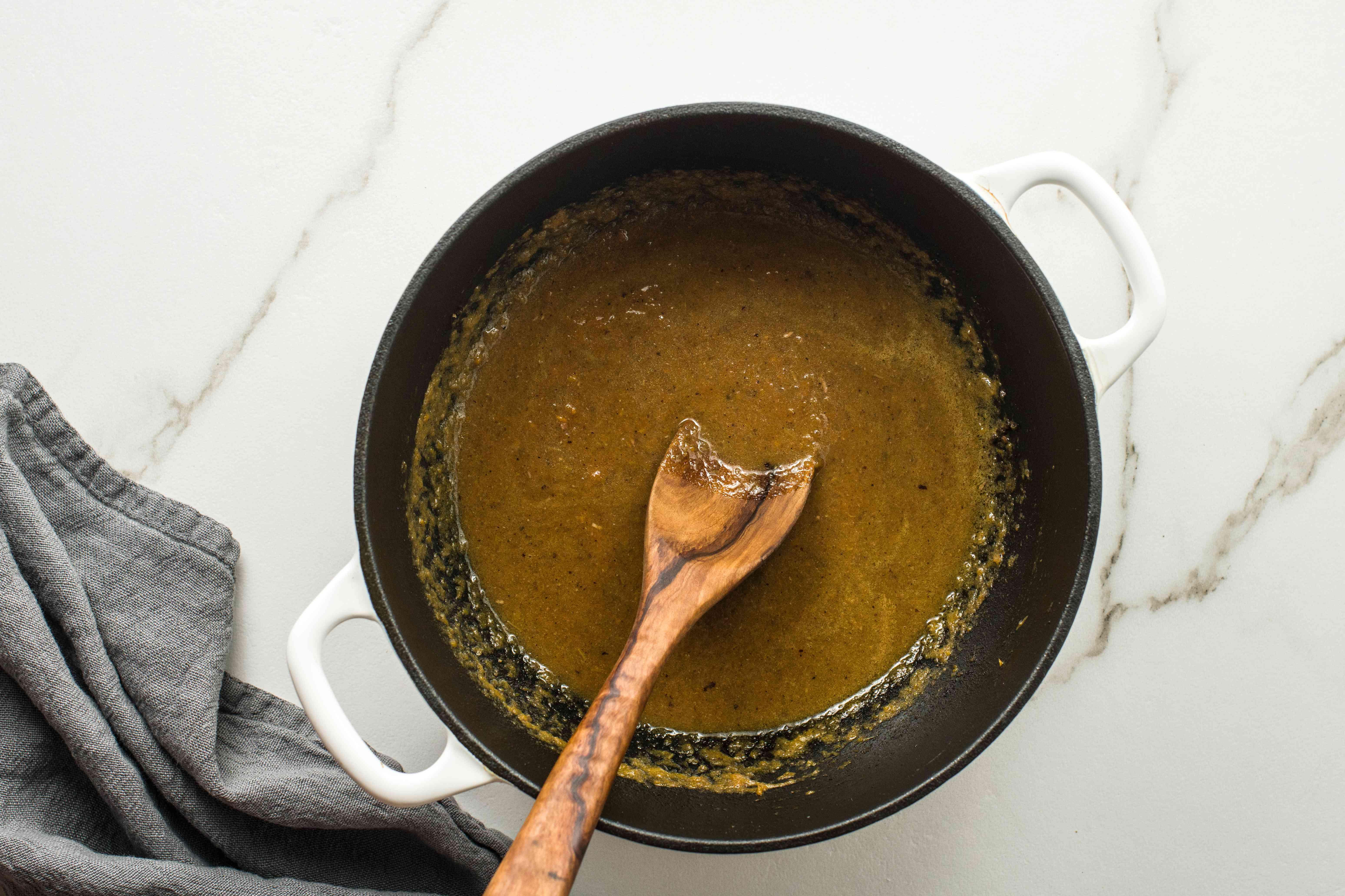 Puree sauce
