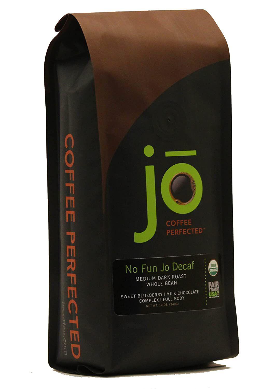 Jo Coffee No Fun Jo Decaf Medium Dark Roast