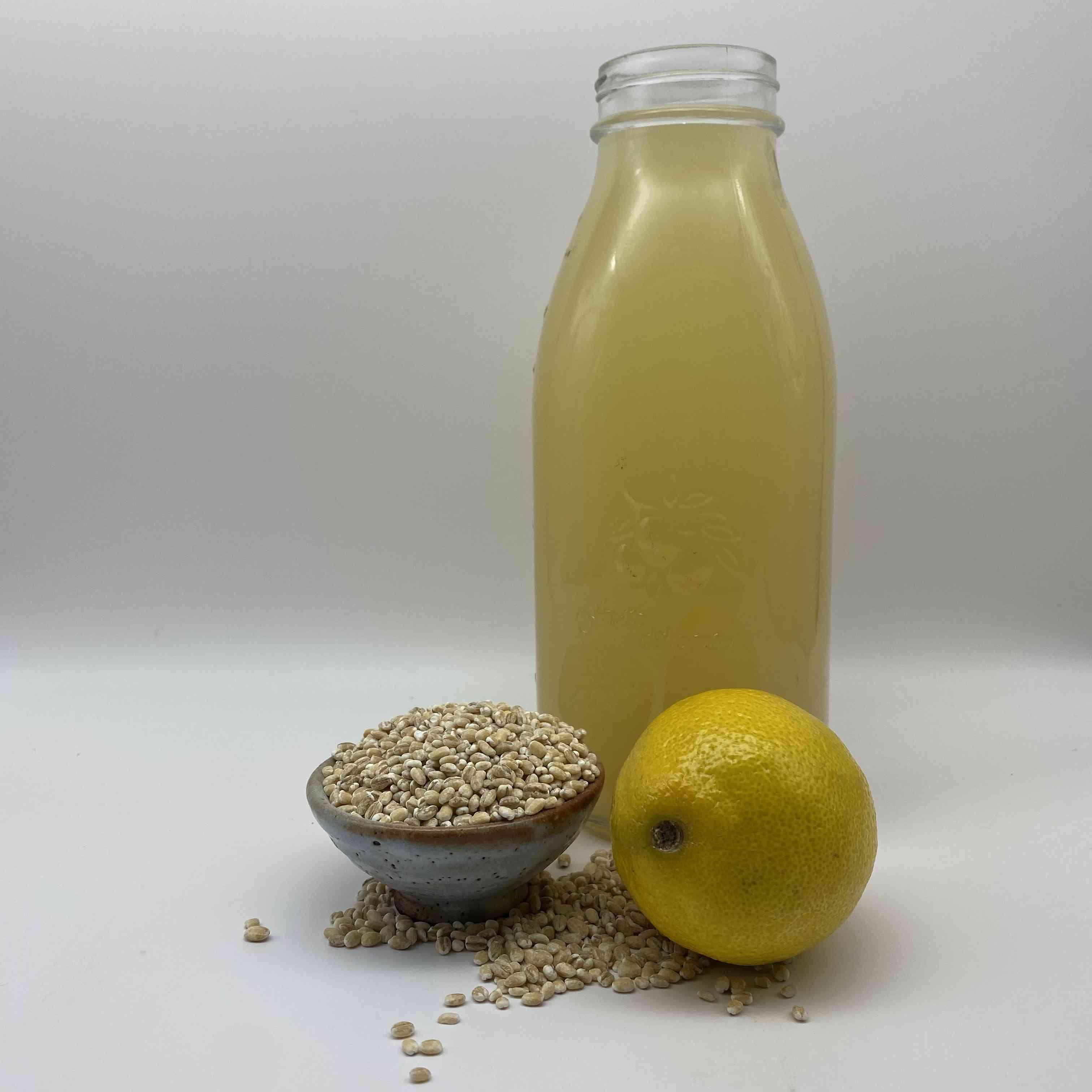 Lemon Barley Water Tester Image