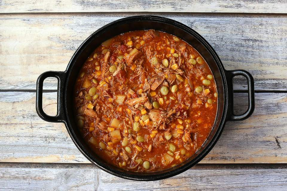 Traditional Brunswick Stew With Pork And Chicken Recipe