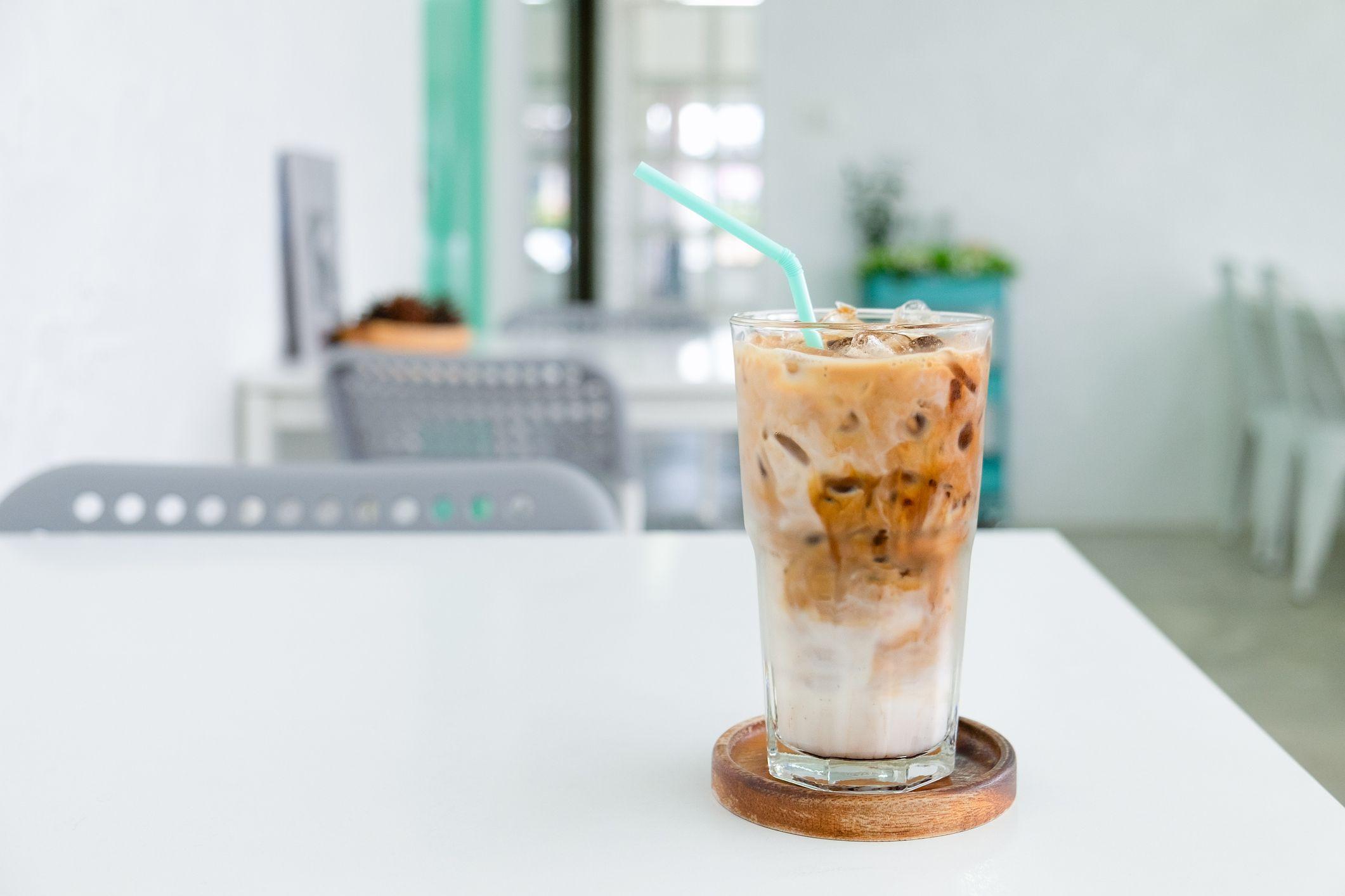 Greek Iced Coffee Frappe