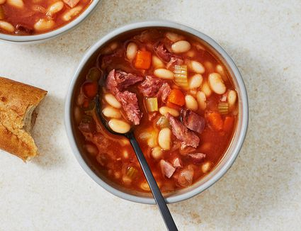 Hearty Ham and Bean Soup Recipe