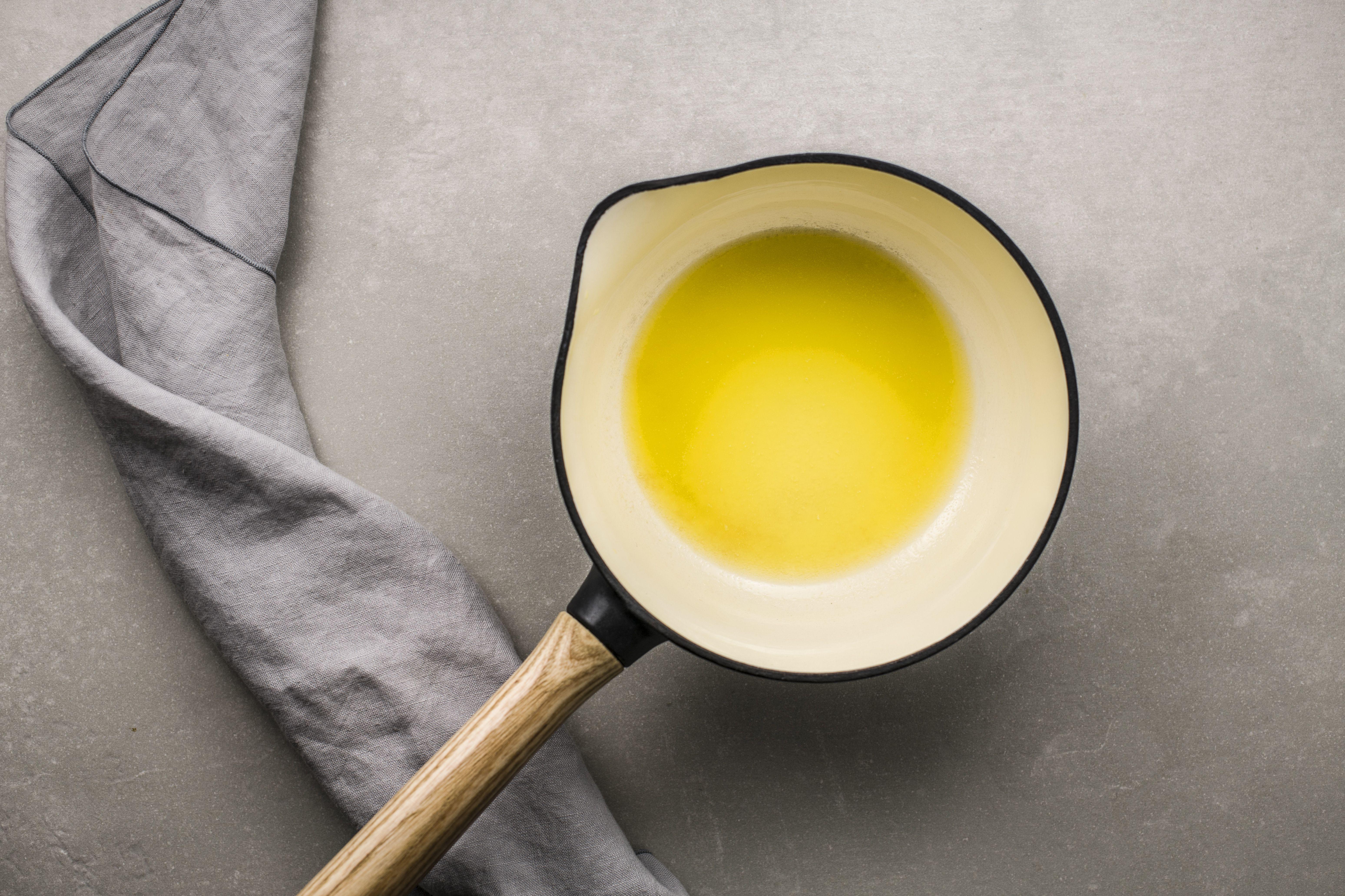 Melt butter in saucepan