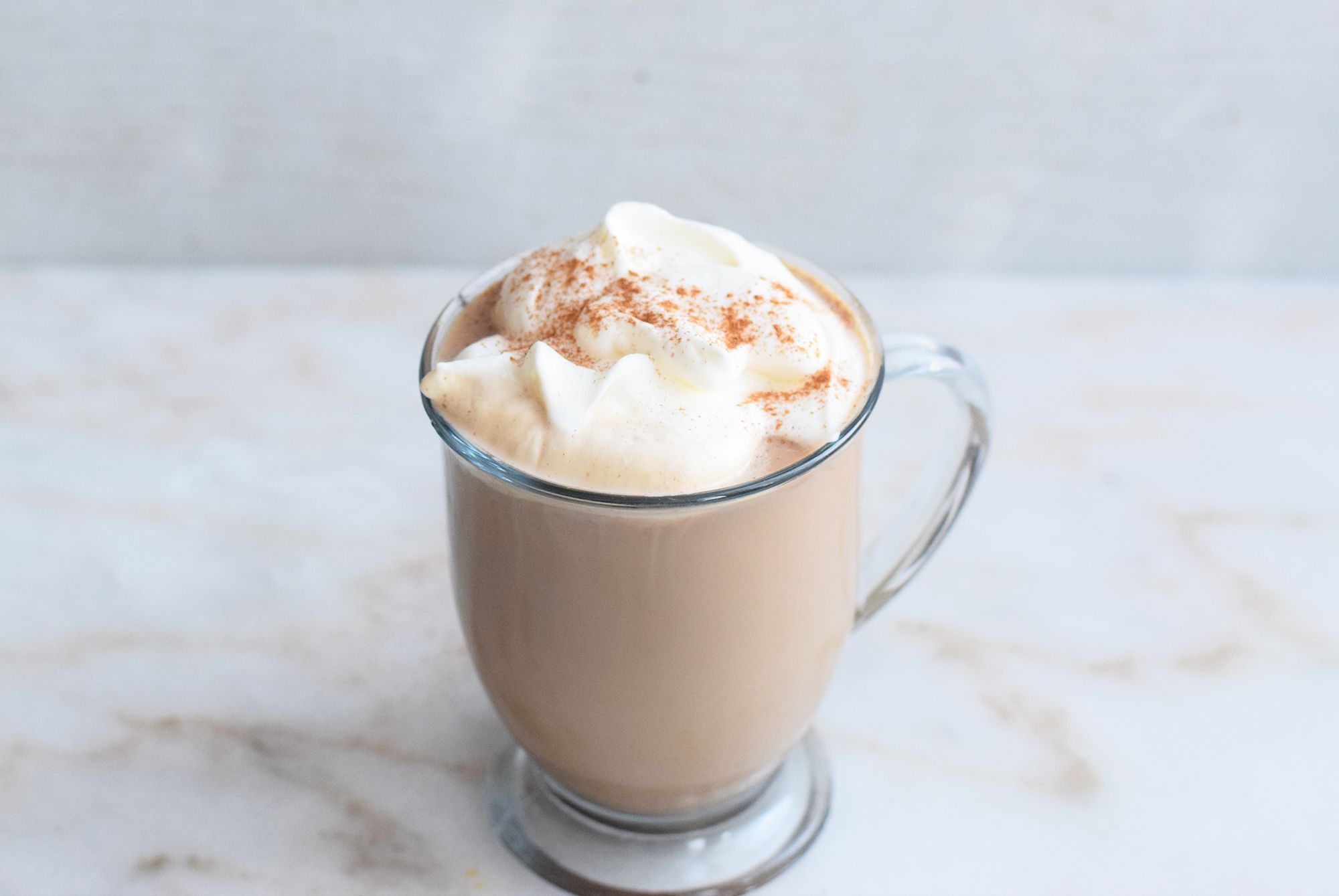 Mexican coffee topped with whipped cream