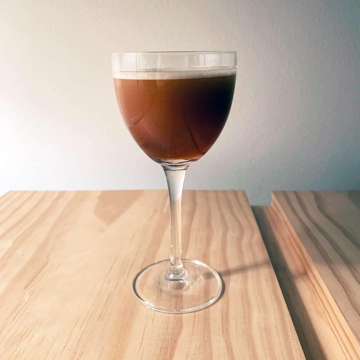 Classic Metropolitan Brandy Cocktail Tester Image