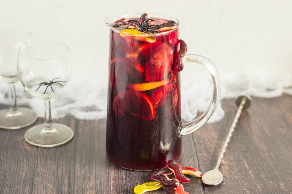 Halloween sangria recipe