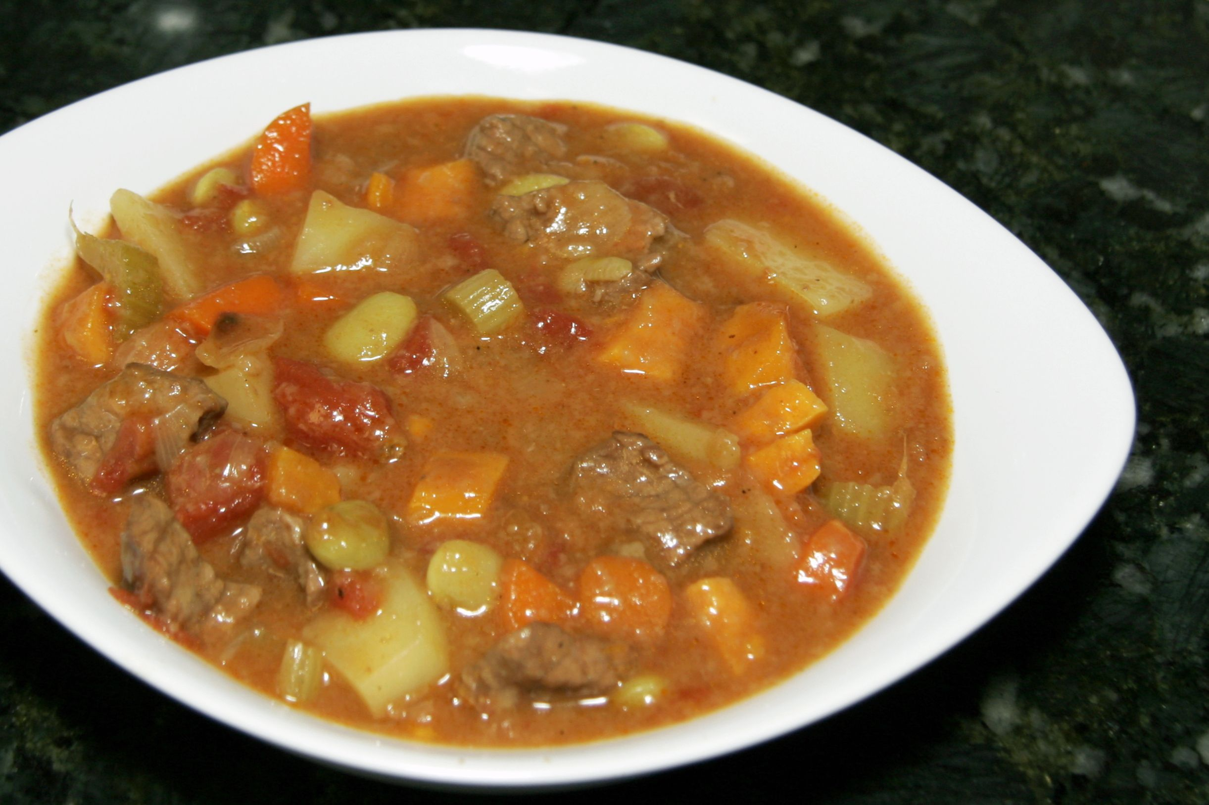 Curried Beef Stew (Slow Cooker or Stovetop)
