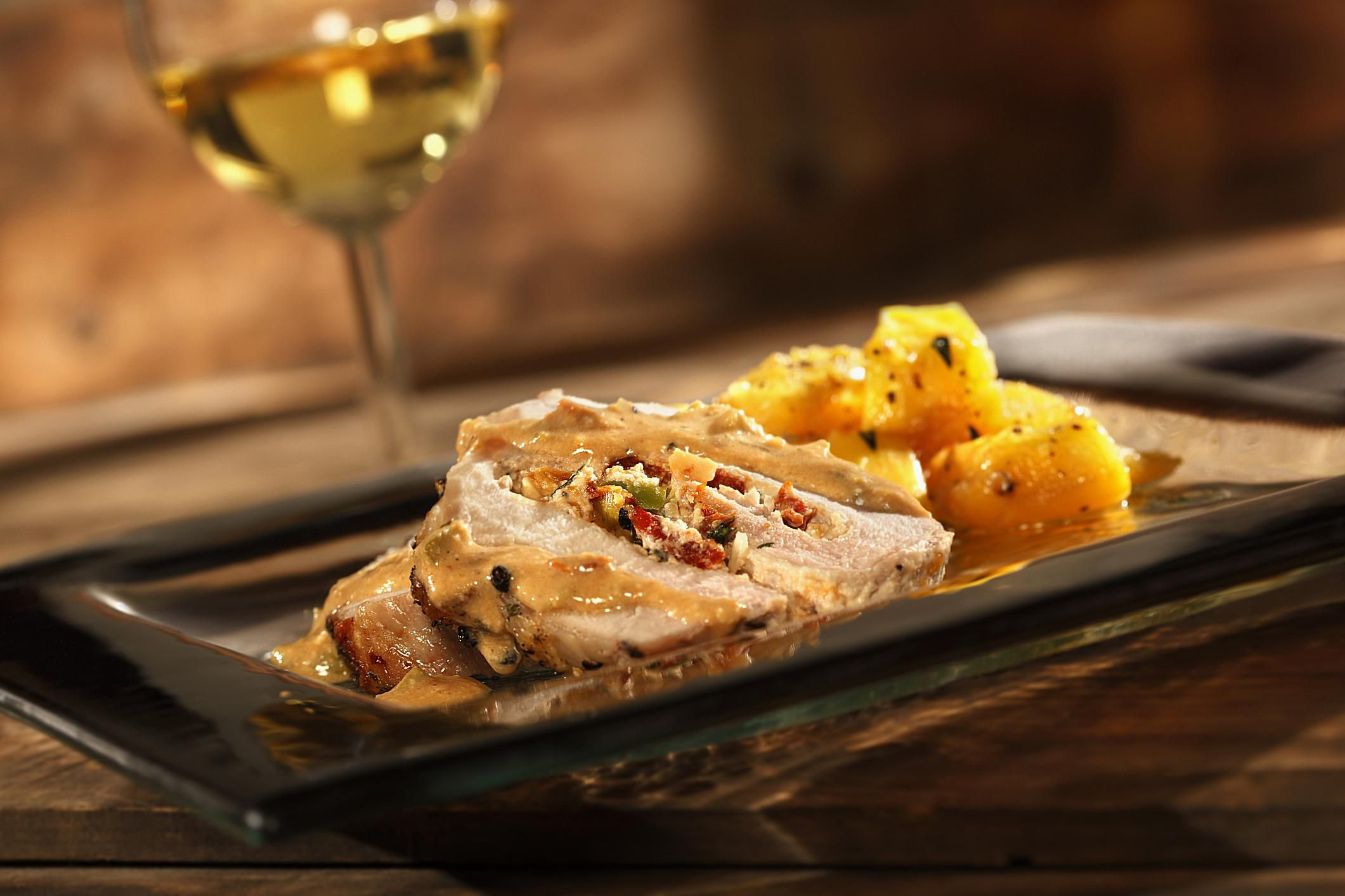Caribbean Crockpot Pork