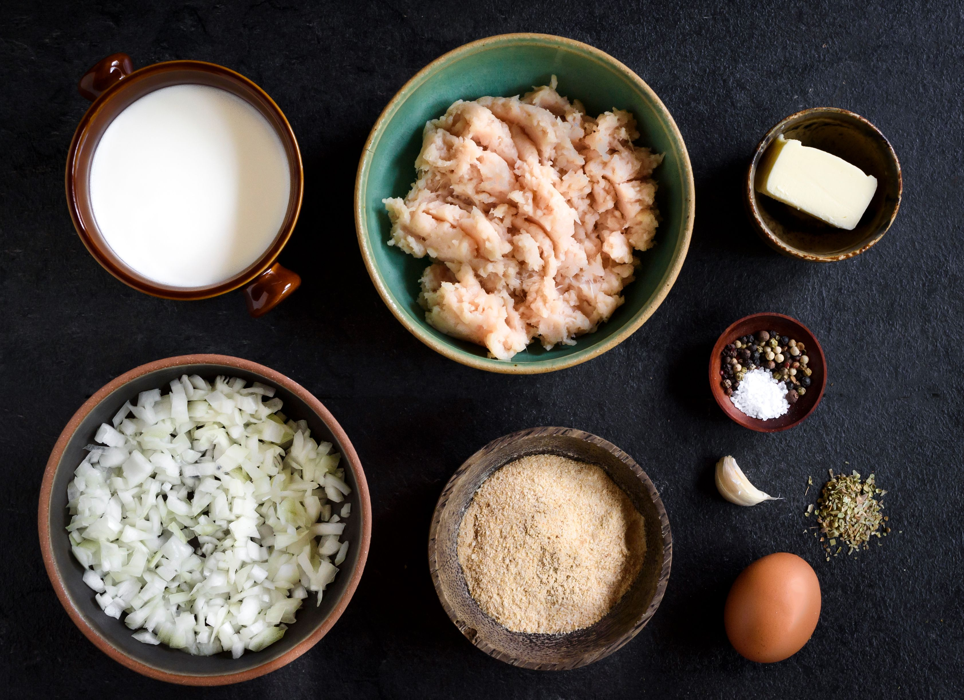 Baked Chicken Meatball Recipe ingredients