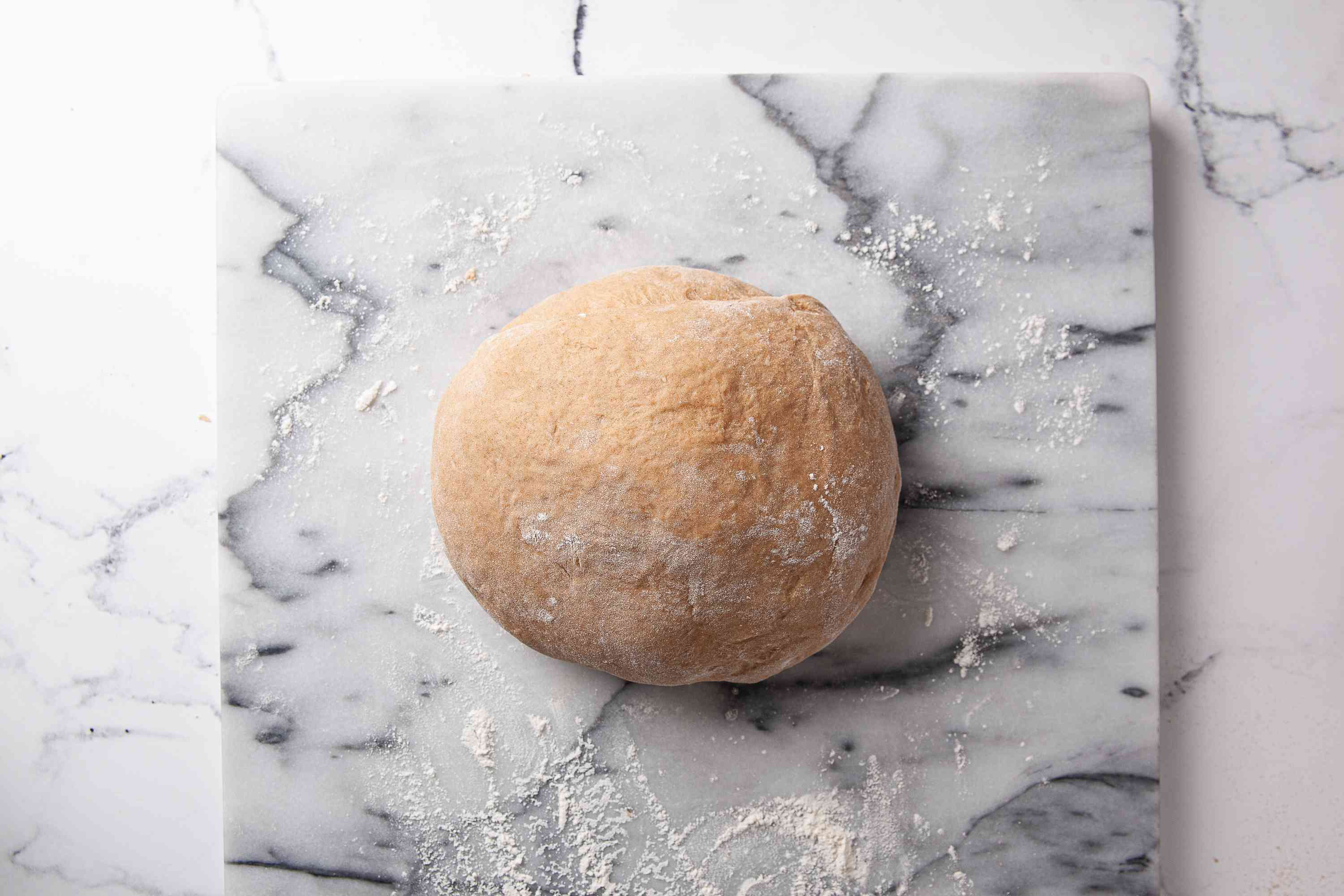 Knead dough for 10 minutes