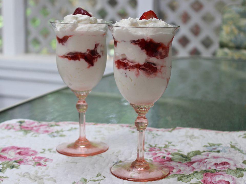 Strawberry Creme Parfait