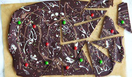 Three Chocolate Peppermint Bark Recipe