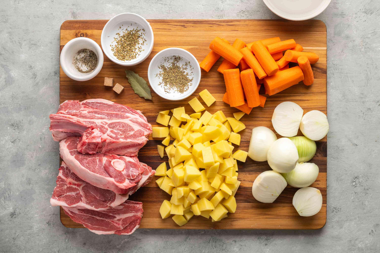Lamb Chop Casserole ingredients