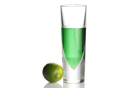 Grasshopper Green Mint-Chocolate Shot
