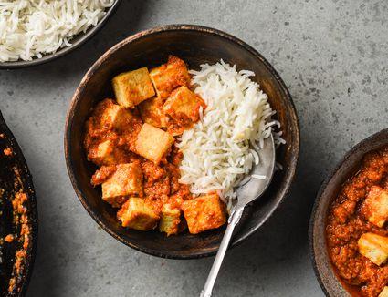 Vegan Paneer Cheese Substitute (Made From Tofu)