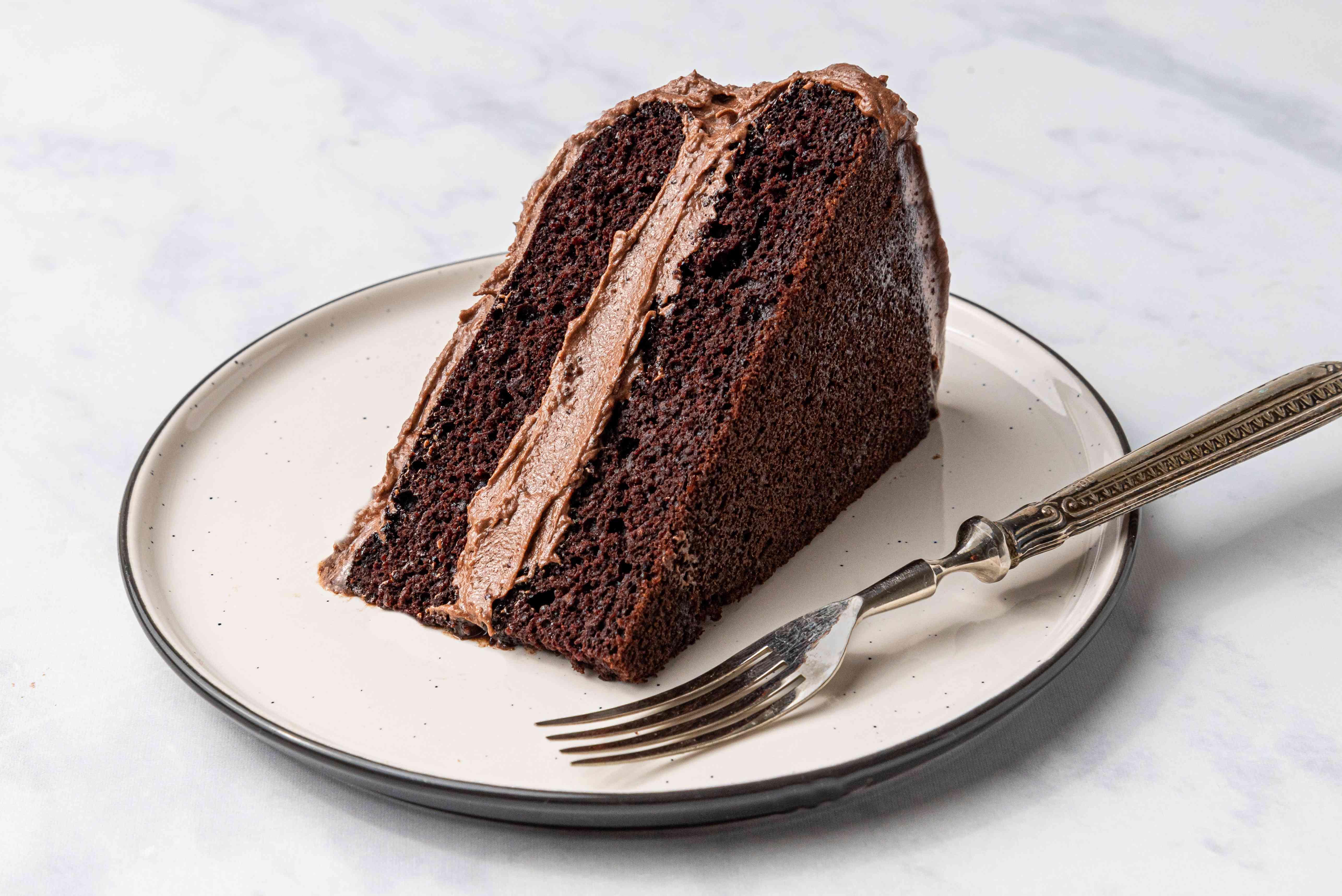 Vegan Tofu Chocolate Cake