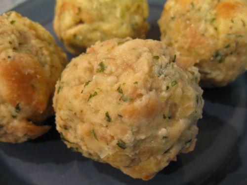 German Bread Dumpling - Semmelknoedel