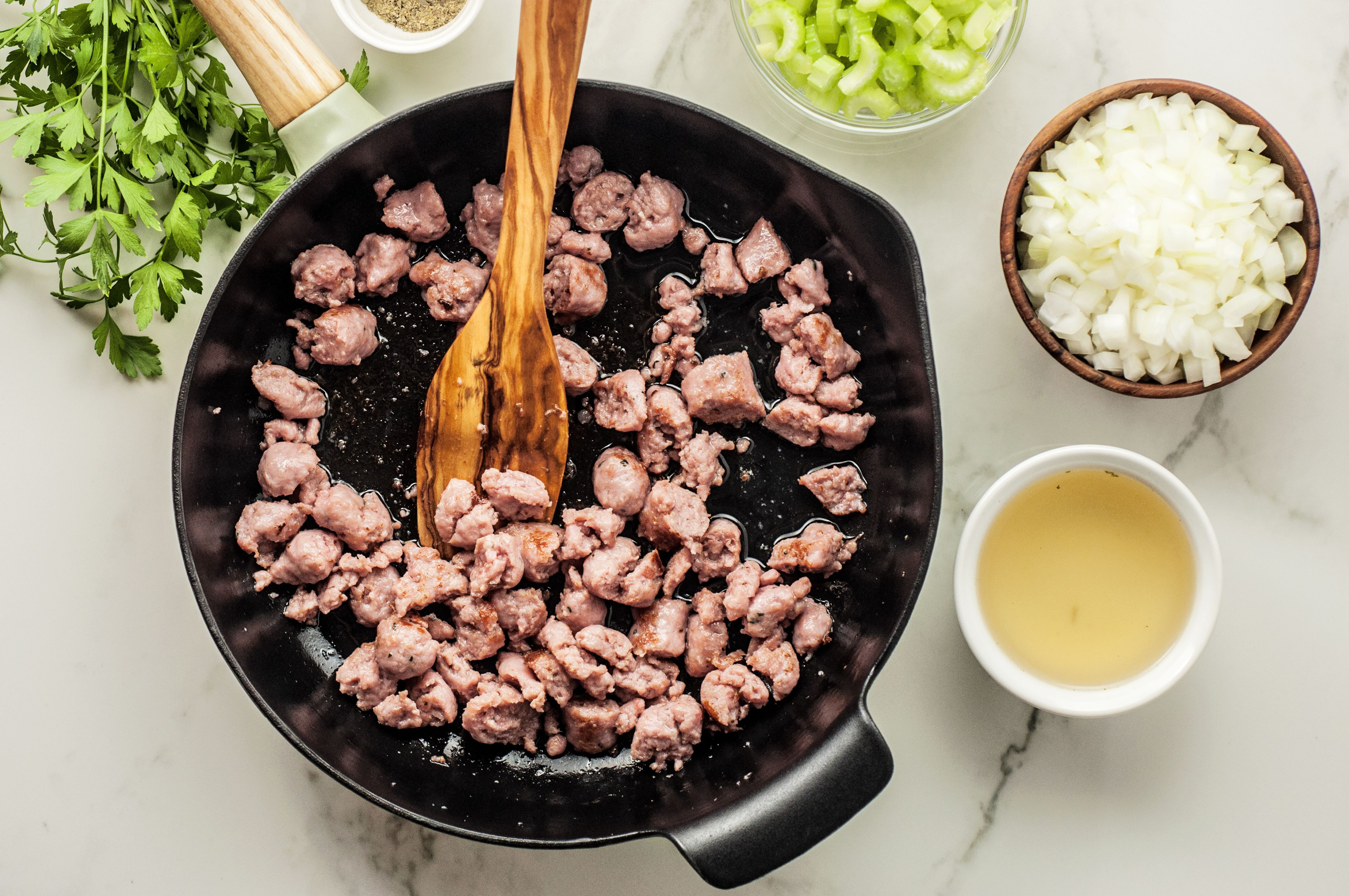 Moist sausage dressing recipe