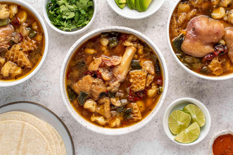 Spicy Tripe Soup (Menudo)