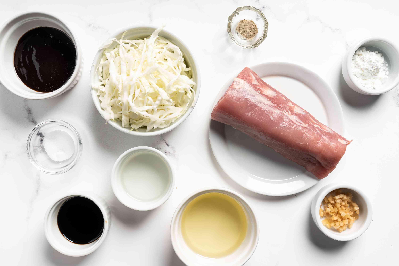 Pork With Peking Sauce ingredients