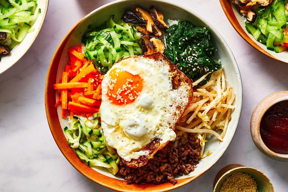 Classic Korean Bibimbap