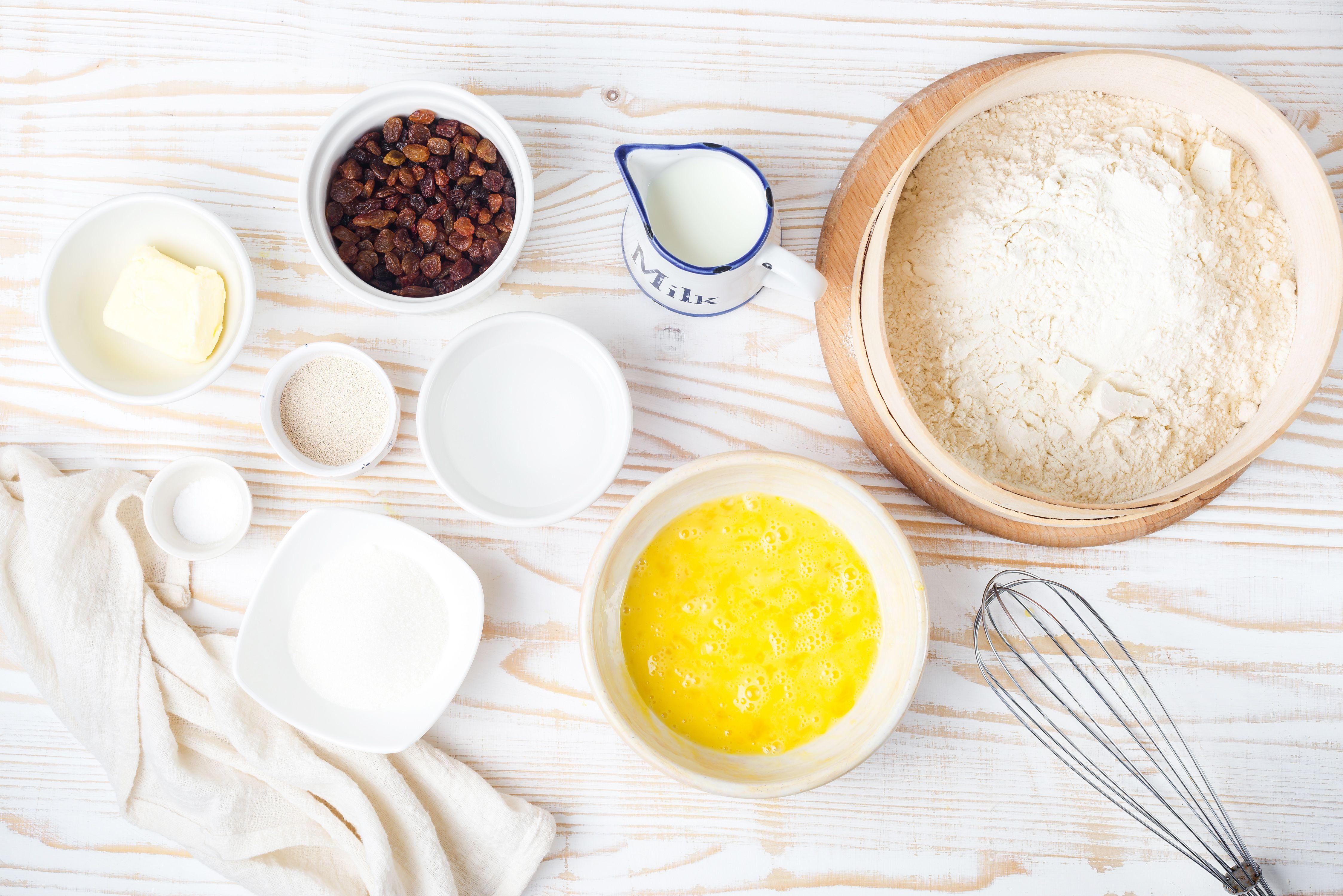 raisin bread ingredients