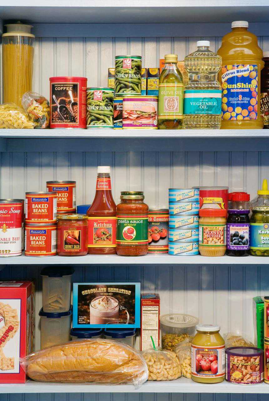 Pantry Basics And Staples Standard Kitchen Supplies