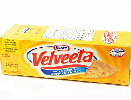 Velveeta cheese box