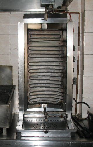 Gyro rotisserie grill