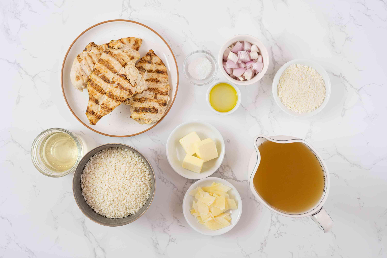 Chicken Risotto ingredients