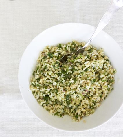 Herby Brown Rice