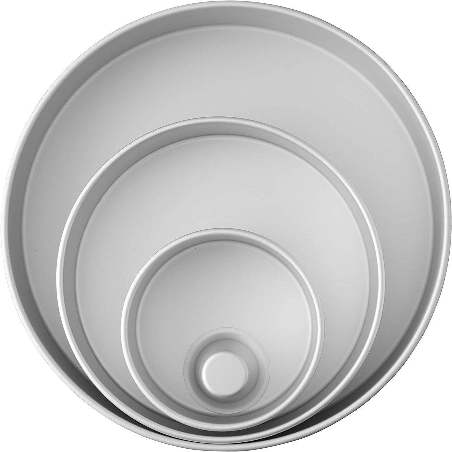 Wilton Decorator Preferred 4-piece Round Pan Set