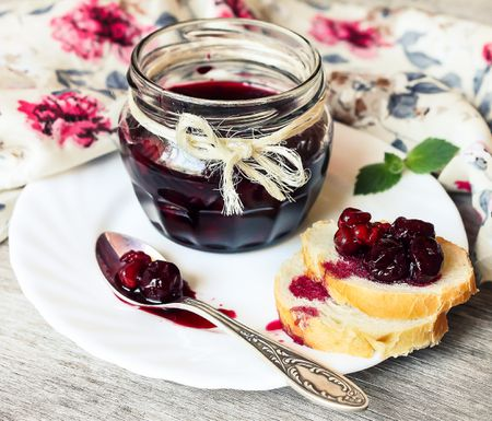 Cherry Freezer Jam Recipe