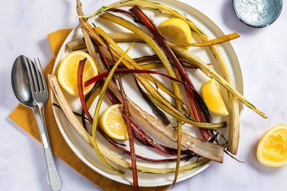 Roasted swiss chard recipe