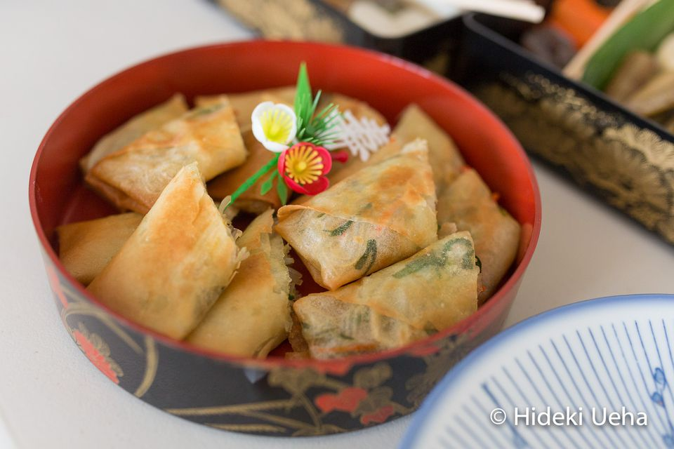 Vegetable Harumaki (Japanese Spring Roll)