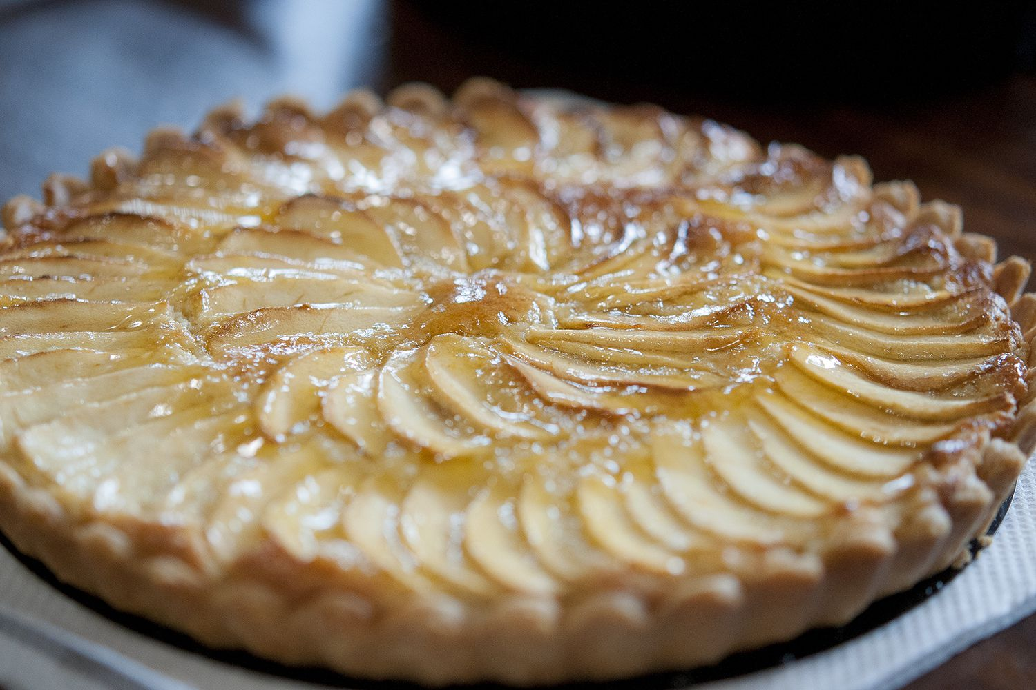 Classic French Tarte Aux Pommes Recipe