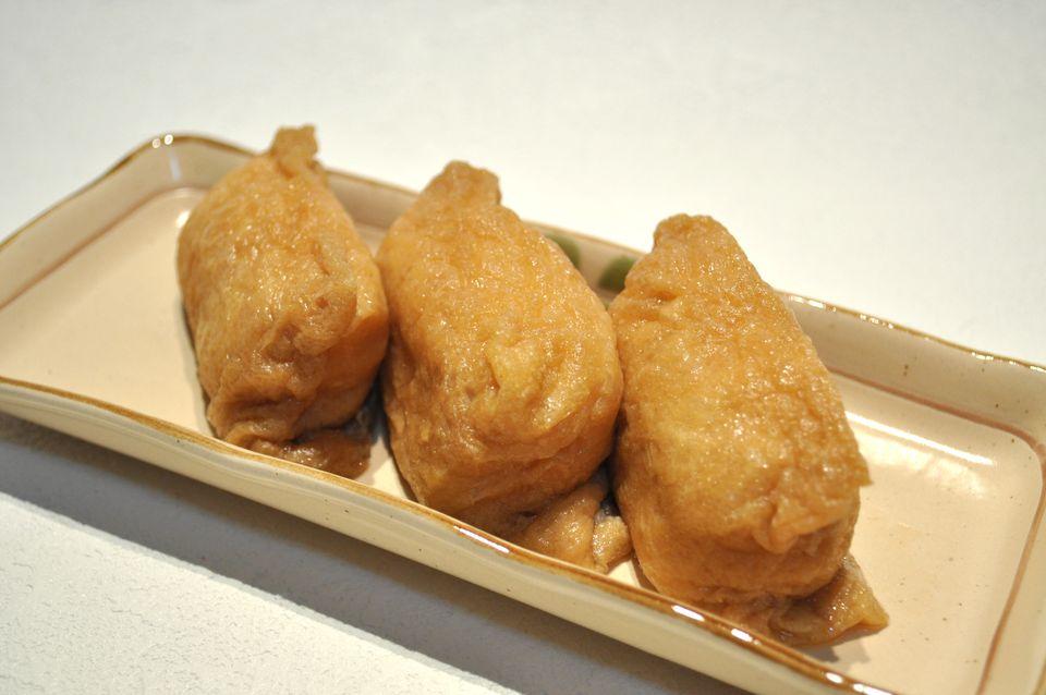 Cómo hacer tofu frito Inarizushi