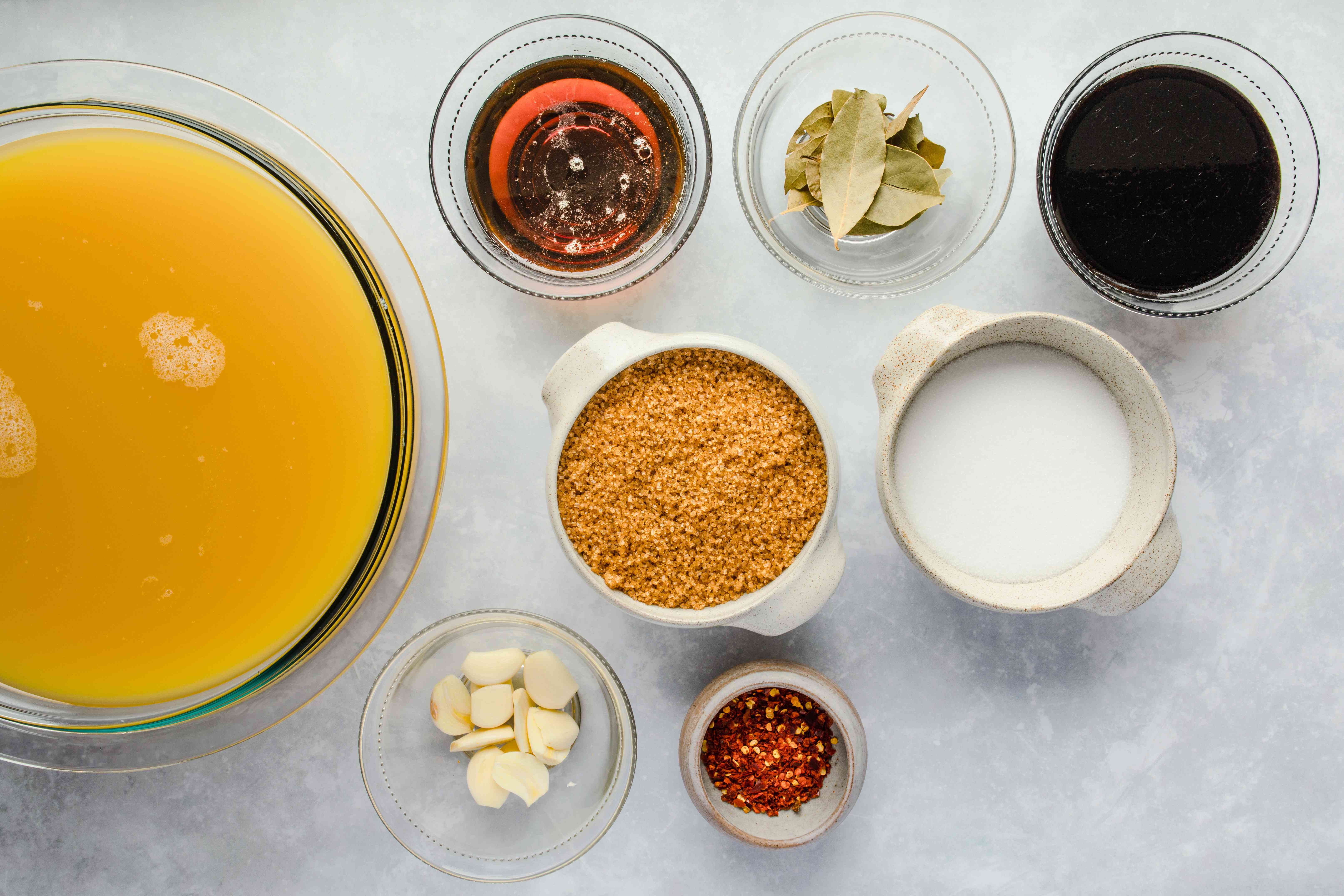 Ingredients for Hawaiian style turkey brine