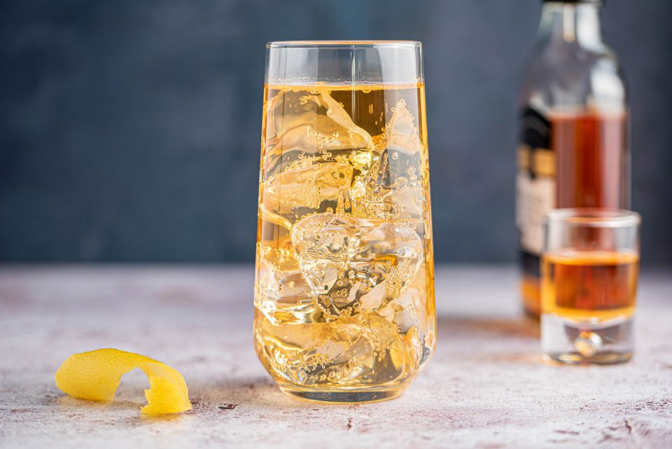Classic highball cocktail recipe