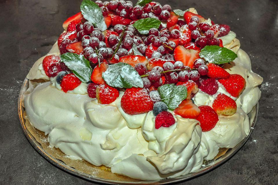 A Dutch cream cake
