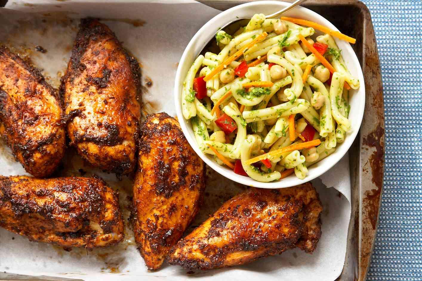 Caribbean chicken sauce