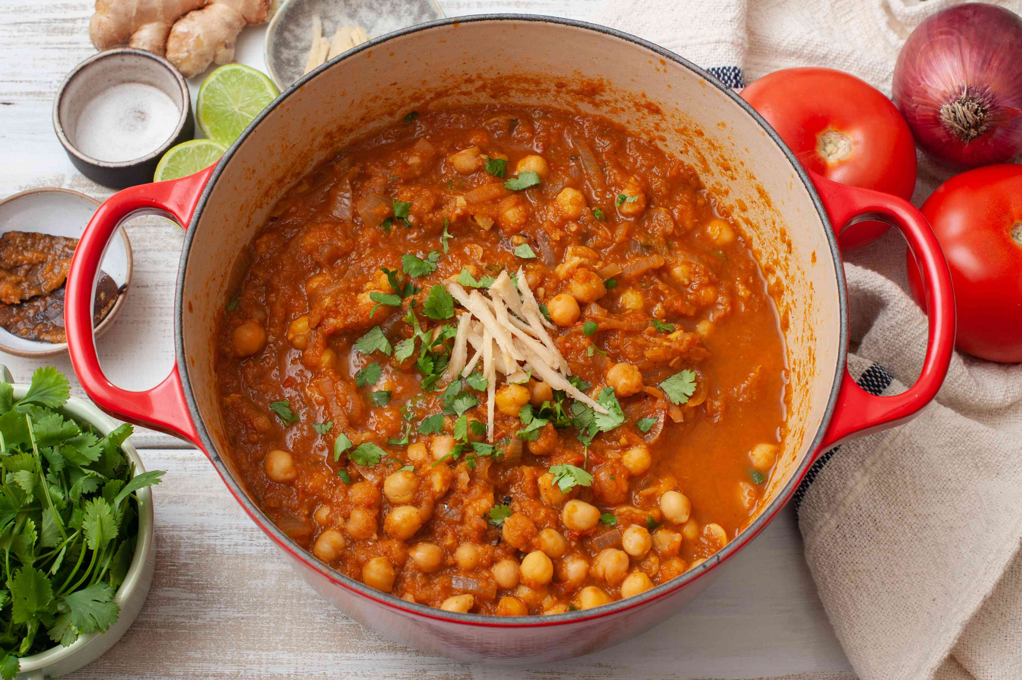 Chole chickpea curry