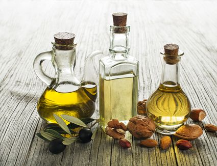 Olive, walnut, almond oil