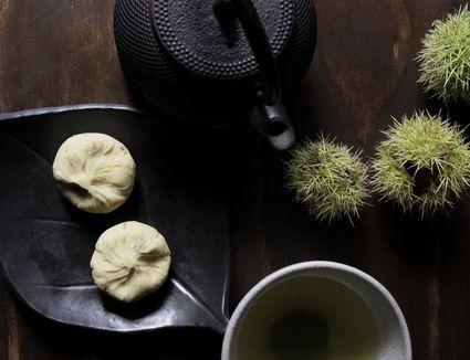 Kuri Kinton (Candied Chestnuts with Sweet Potatoes)