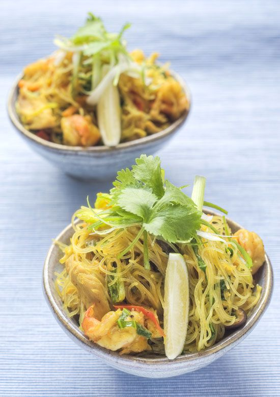 Singapore-style noodles recipe