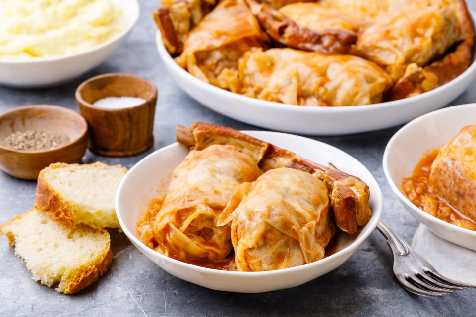 Serbian stuffed cabbage recipe
