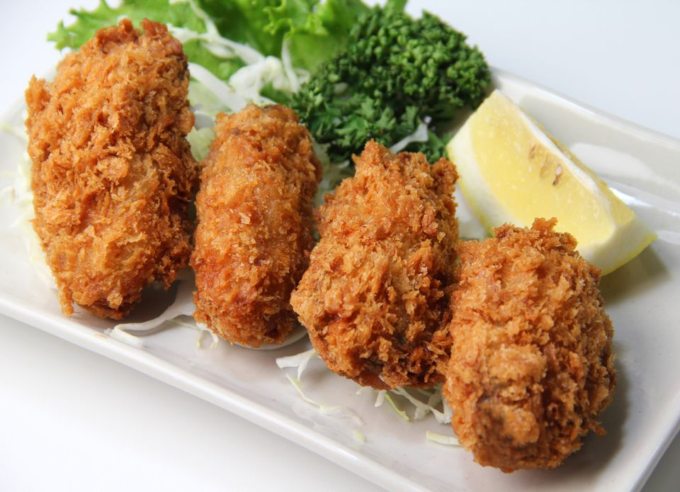 Kaki Fuh-Rai, Japanese Deep Fried Breaded Oysters