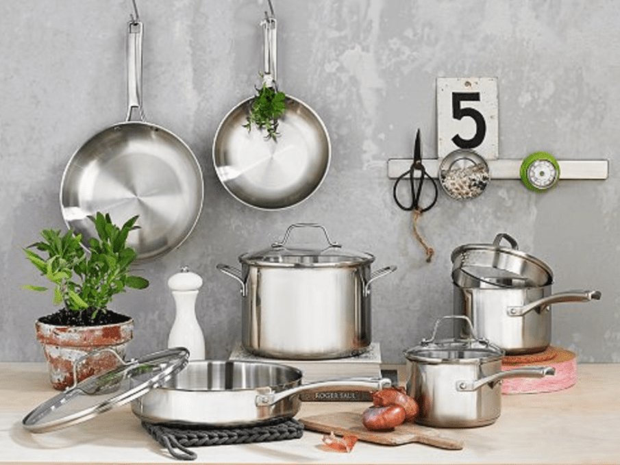 The 6 Best Stainless Steel Cookware Sets Of 2020