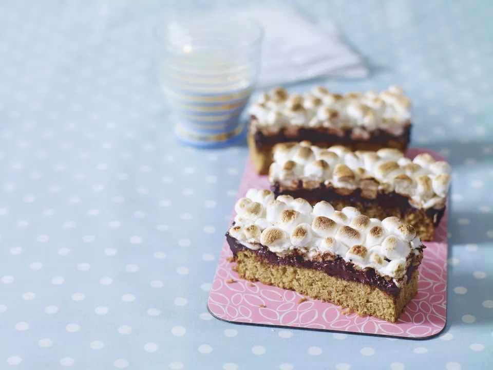 Easy Oven Baked S'Mores Bars