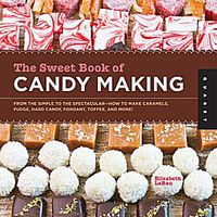 Sweet Book of Candy Making Elizabeth LaBau